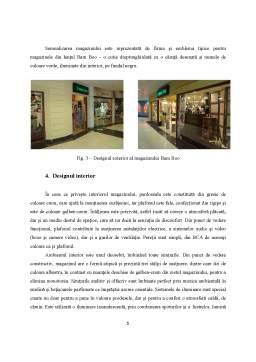 Proiect - Analiza Magazinului Bam Boo din București Mall