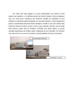Referat - Metoda de Caracterizare a Polimerilor - Analiza Termica