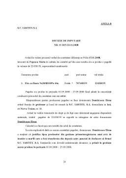Referat - Controlul Financiar prin Inventariere - SC Iasitex SA