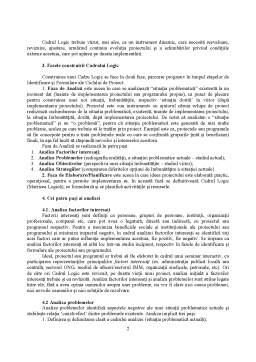Curs - Managementul Proiectelor - Cadrul Logic