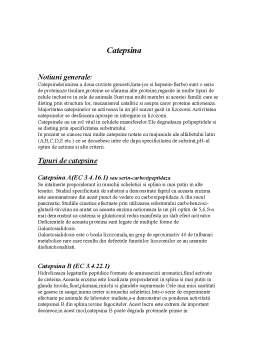 Referat - Catepsina