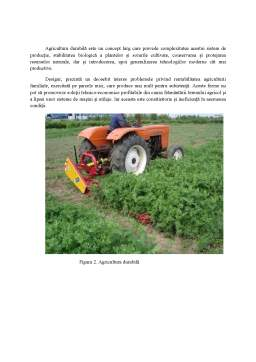 Proiect - Sisteme de Agricultura - Agricultura Durabila