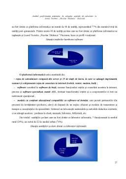 Proiect - Auditul Performantei Sistemului de Educatie Asistata de Calculator la Liceul Teoretic Nicolae Titulescu - Pucioasa