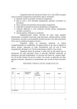 Seminar - Registre de Contabilitate