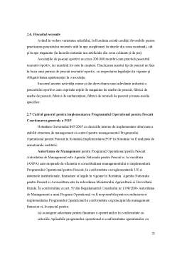 Proiect - Studiu Agentia Nationala pentru Pescuit si Acvacultura