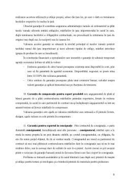 Curs - Garanții Bancare Internaționale