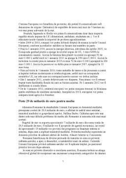 Referat - Politica Europeana Privind Protectia Mediului Inconjurator si Aderarea Romaniei la UE