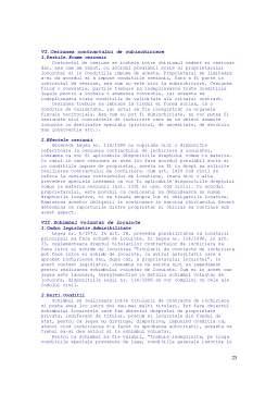Curs - Contractul de Inchiriere a Locuintei