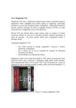 Curs - Structuri de Măsurare și Interfatare în Sisteme Automate