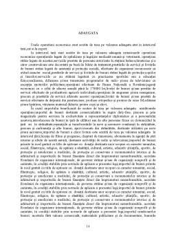 Proiect - Studiu privind Determinarea Impozitului pe Profit si a TVA-ului pentru o Societate Comerciala