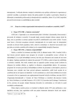 Referat - Viziuni asupra Normalizării și Armonizării Contabile Internaționale