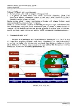Proiect - Simularea Retelei UMTS cu OPnet