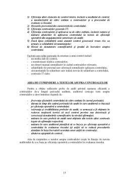 Curs - Procedurile Auditorului ca Raspuns la Riscurile Evaluate - ISA 330