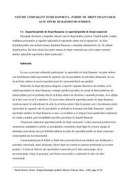 Referat - Raporturi Juridice Financiare