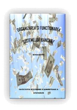 Proiect - Organizarea si Functionarea Institutiilor de Credit