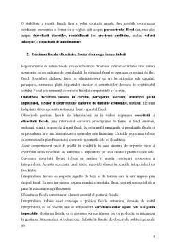 Curs - Gestiunea Fiscala a Intreprinderii - Convergente si Divergente intre Contabilitate si Fiscalitate