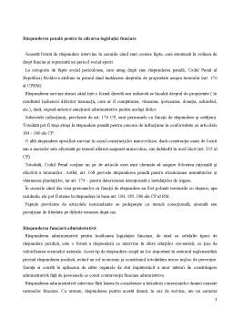 Referat - Răspunderea Juridică în Dreptul Funciar