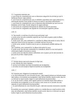 Notiță - Drept Procesual Penal