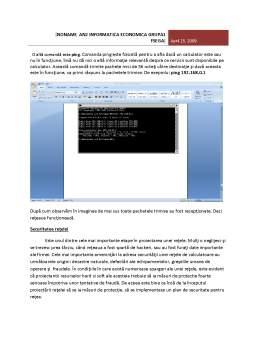 Proiect - Proiectarea unei Retele de Calculatoare