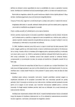 Curs - Sistemul de Gestiune a Bazei de Date InterBase