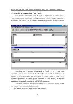 Curs - Capitolul 5 - Elemente de Programare - Realizarea Programelor - FoxPro