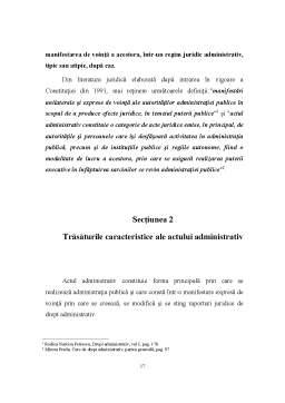 Proiect - Drept Administrativ - Actul Administrativ