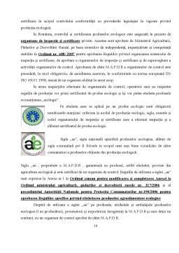 Referat - Agricultură Ecologică
