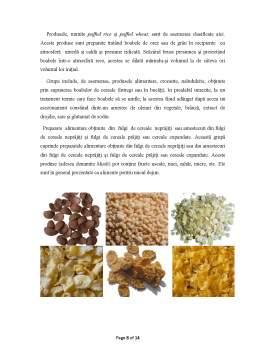 Proiect - Procesarea Produselor Expandate și Extrudate din Cereale