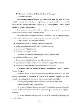 Referat - Recrutarea și Selecția Funcționarilor Publici în Cadrul Comisiei Europene
