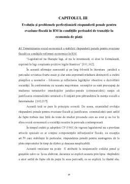 Licență - Analiza Juridico-Penala a Evaziunii Fiscale in Republica Moldova