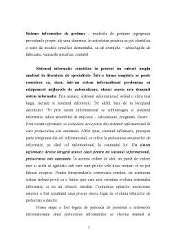 Proiect - Sisteme Informatice si Sisteme Informationale