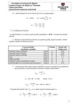 Laborator - Determinarea Coeficienților de Frecare la Asamblărilor cu Șuruburi