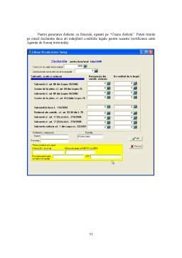 Proiect - Descrierea Programului de Contabilitate - Mastercont