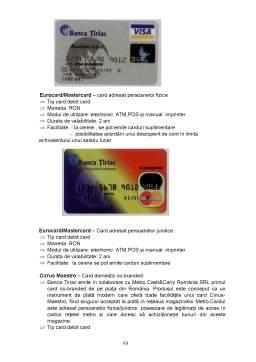 Proiect - Monografie Banca Tiriac