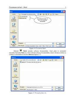 Curs - Procesorul de Texte Word