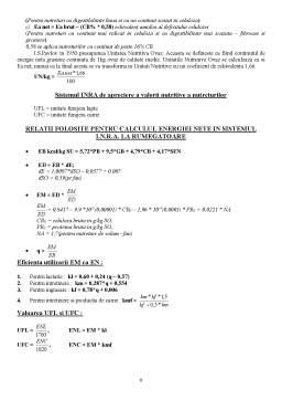 Laborator - Determinarea Compozitiei Chimice a Nutreturilor