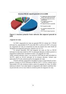 Proiect - Piata Asigurarilor in Romania - Evolutii si Perspective in Contextul Crizei Economice