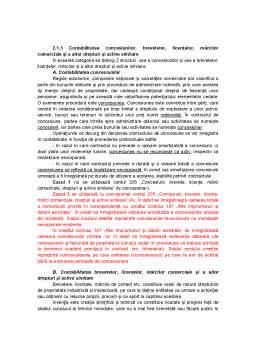 Curs - Contabilitatea Concesiunilor, Brevetelor, Licentelor, Marcilor Comerciale si a Altor Drepturi si Active Similare