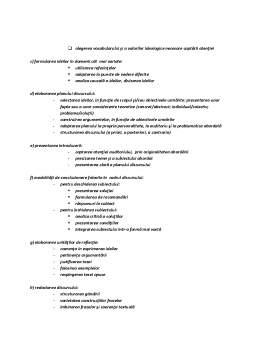 Curs - Modalitati de Structurare a Discursurilor, Expunerilor si-sau a Alocutiunilor