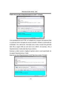 Curs - Programare HTML și XML