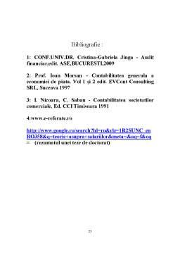 Proiect - Auditul Financiar al Salariilor