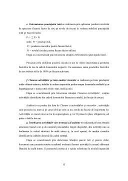 Referat - Planificarea Auditului Intern