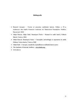 Referat - Metodologia Implementarii Controlului Intern