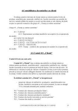 Proiect - Contabilitatea Decontarilor cu Clienții