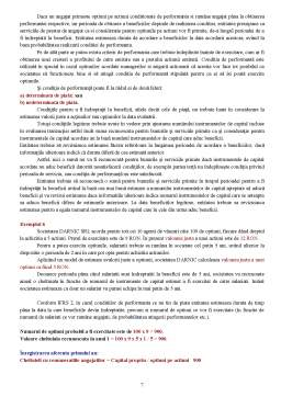 Curs - IFRS - 2 Plati pe Baza de Actiuni