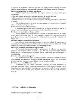 Referat - Ferma Ecologica in Romania