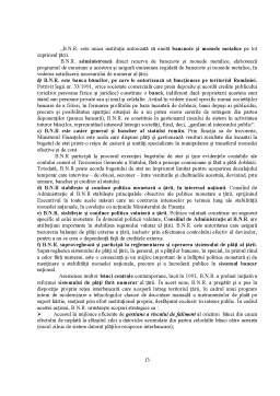 Proiect - Banca Nationala a Romaniei - Banca Centrala a Statului Roman