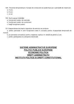 Notiță - Deontologia si Statutul Functionarului Public - Grile