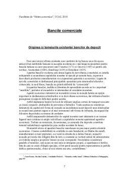 Referat - Bancile Comerciale