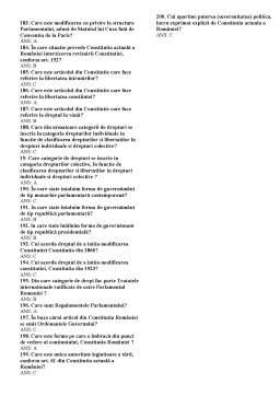 Notiță - Grile Drept Constitutional